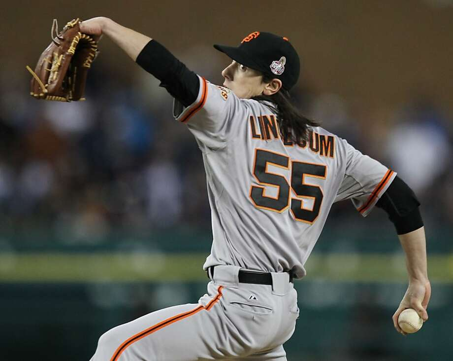 Having two-time Cy Young Award-winner Tim Lincecum in the bullpen is removing late-inning suspense. Photo: Lance Iversen, The Chronicle
