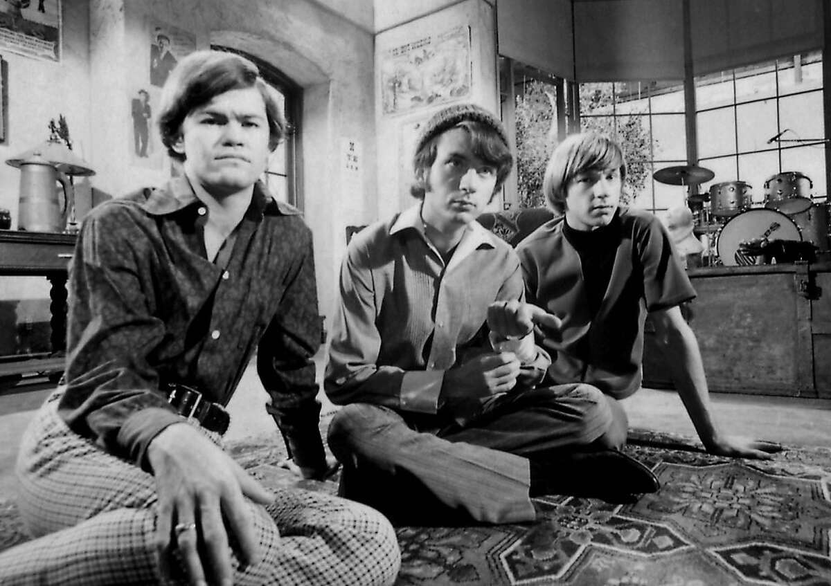 The Monkees: Michael Nesmith, Micky Dolenz, and Peter Tork.