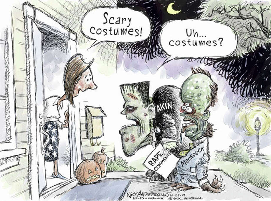 Scary Characters (Nick Anderson / Houston Chronicle)
