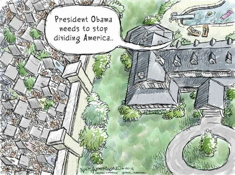 America Divided (Nick Anderson / Houston Chronicle)