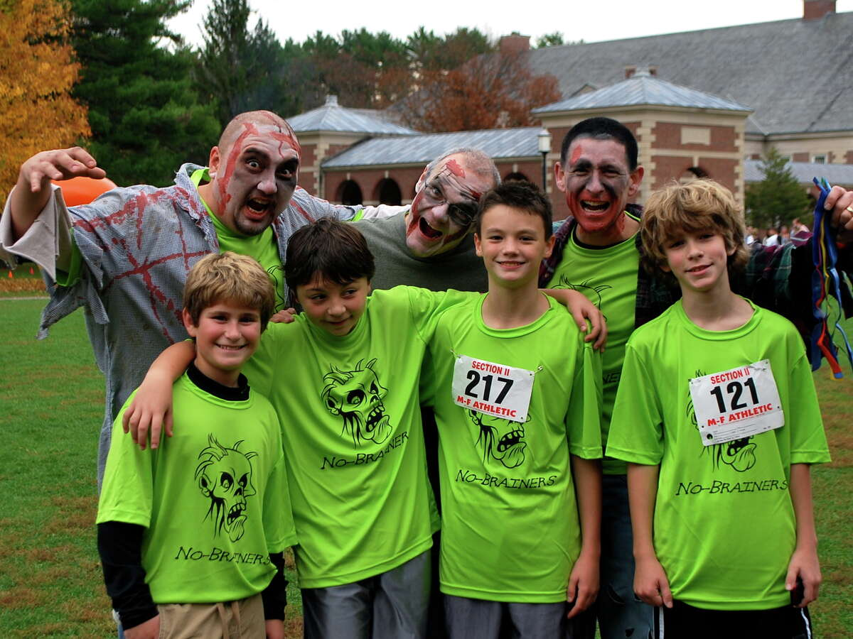 Were you Seen at the rUNDEAD Zombie 5K Survival Run benefit for Special Olympics at the Saratoga Spa State Park in Saratoga Springs on Sunday, Oct. 28, 2012?