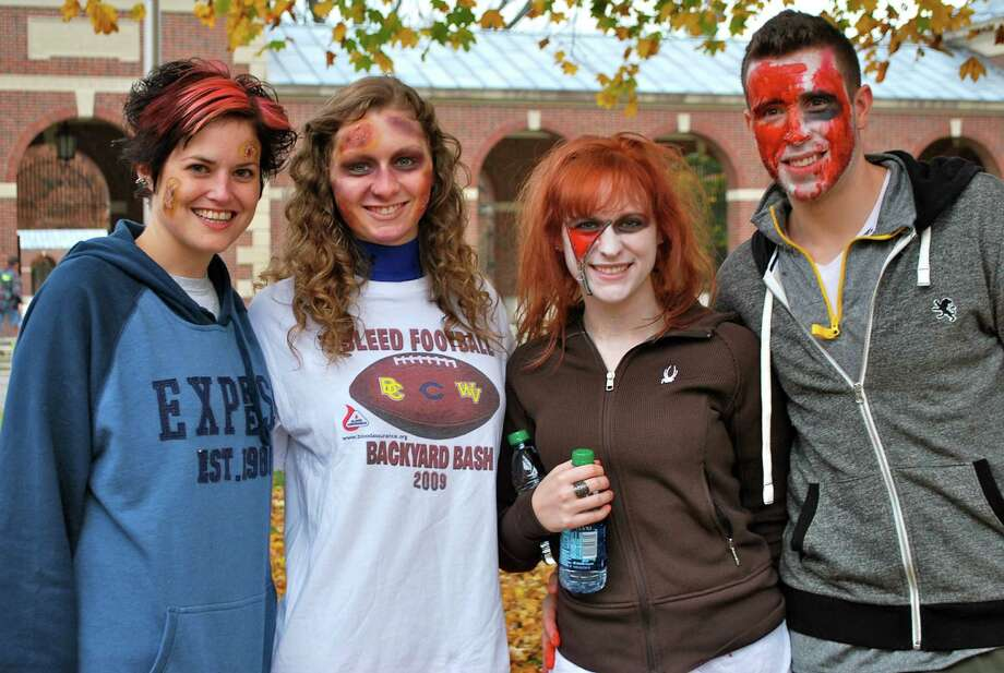 Were you Seen at the rUNDEAD Zombie 5K Survival Run benefit for Special Olympics at the Saratoga Spa State Park in Saratoga Springs on Sunday, Oct. 28, 2012? Photo: Silvia Meder Lilly