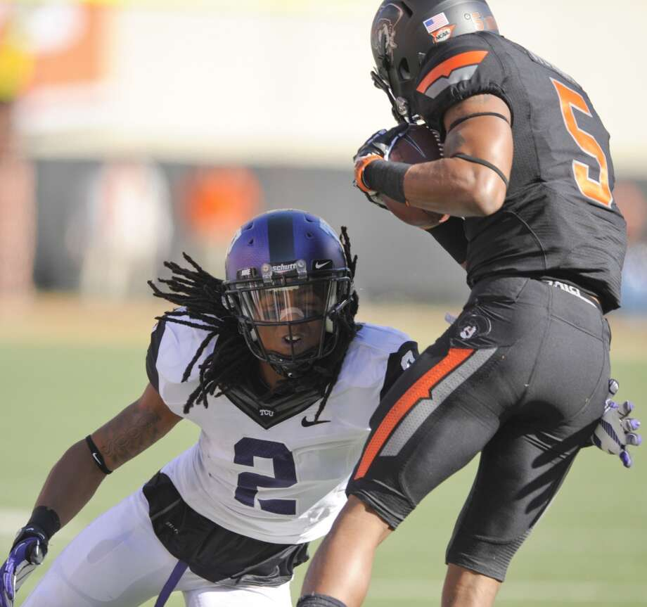4. TCU (5-3, next game Saturday @West Virginia) - Horned Frogs lose back-to-back games for the first time since 2007 after falling to Oklahoma State. Most disturbing was that they were shut out over final three quarters against Cowboys. Brody Schmidt/Associated Press