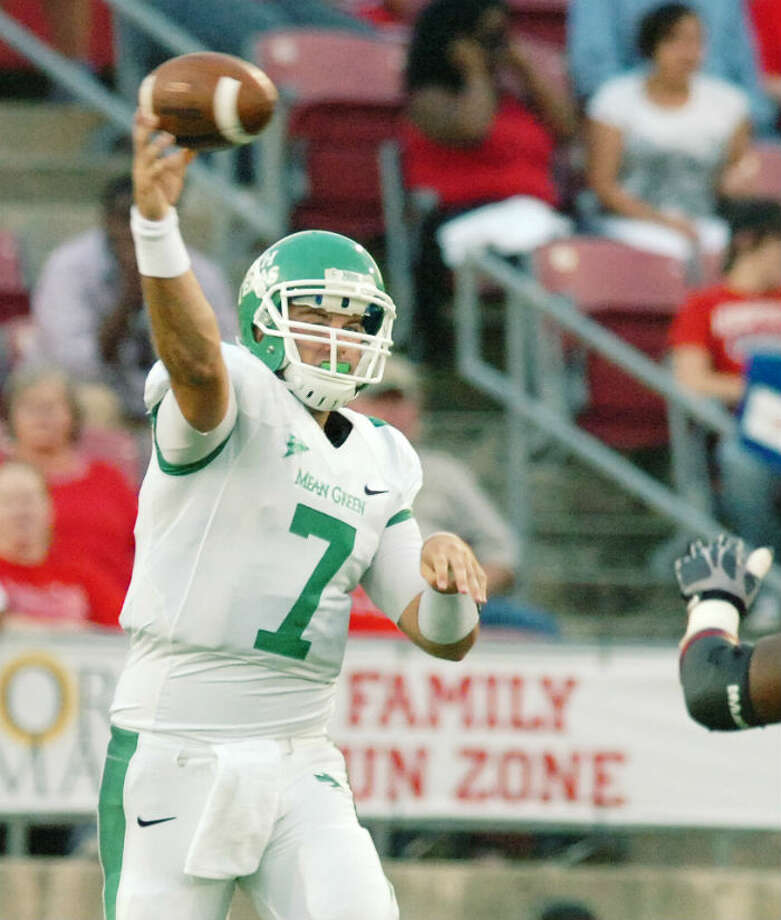 8. North Texas (3-5, next game Saturday vs. Arkansas St.) - No consistency for Mean Green, who squander momentum of Louisiana-Lafayette victory with loss at Middle Tennessee State. It's the 21st straight time that they have followed a victory with a loss in a streak dating to 2004. David Minton/AP/Denton Record Chronicle photo from Oct. 6