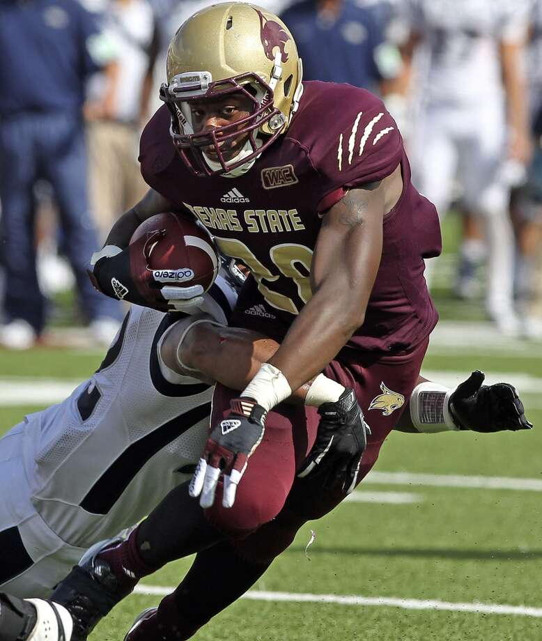 "10. Texas State (3-4, next game Saturday @ Utah St.) -- ""Fightin' Frans"" had San Jose State on the ropes before another second-half collapse, continuing string of scoreless second halves against all FBS opponents so far. Tom Reel/Express-News from Sept. 29"