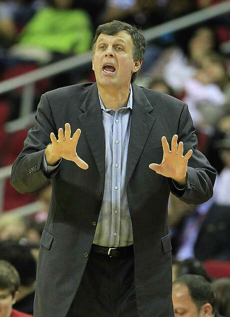 The acquisition of James Harden enhances Kevin McHale's desire for the Rockets to push the pace. Photo: Karen Warren, Staff / © 2012  Houston Chronicle