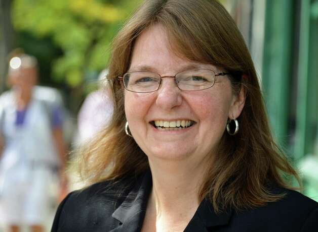 Robin Andrews, Democratic candidate for NYS Senate in Troy Thursday Sept. 20, 2012.  (John Carl D'Annibale / Times Union) Photo: John Carl D'Annibale / 00019348A