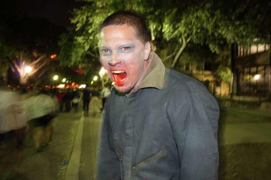 San Antonio Zombie Walk at HemisFair Park on Oct. 28, 2012. Photo: Yvonne Zamora/Express-News