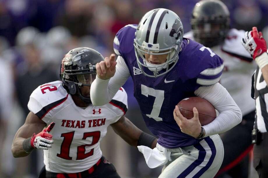 Collin Klein, Kansas State, 12 carries, 83 yards, 2 TDsOrlin Wagner/Associated Press (Associated Press)