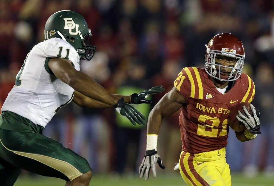 Shontrelle Johnson, Iowa State, 16 carries, 73 yards, 0 TDsCharlie Neibergall/Associated Press (Associated Press)