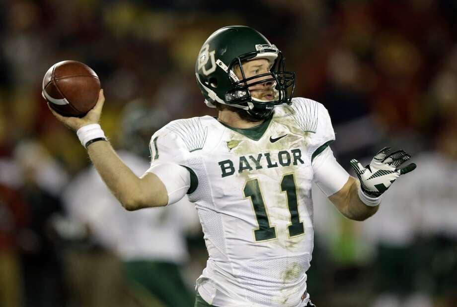 Nick Florence, Baylor, 31-51-1, 426 yards, 2 TDs Charlie Neibergall/Associated Press (Associated Press)