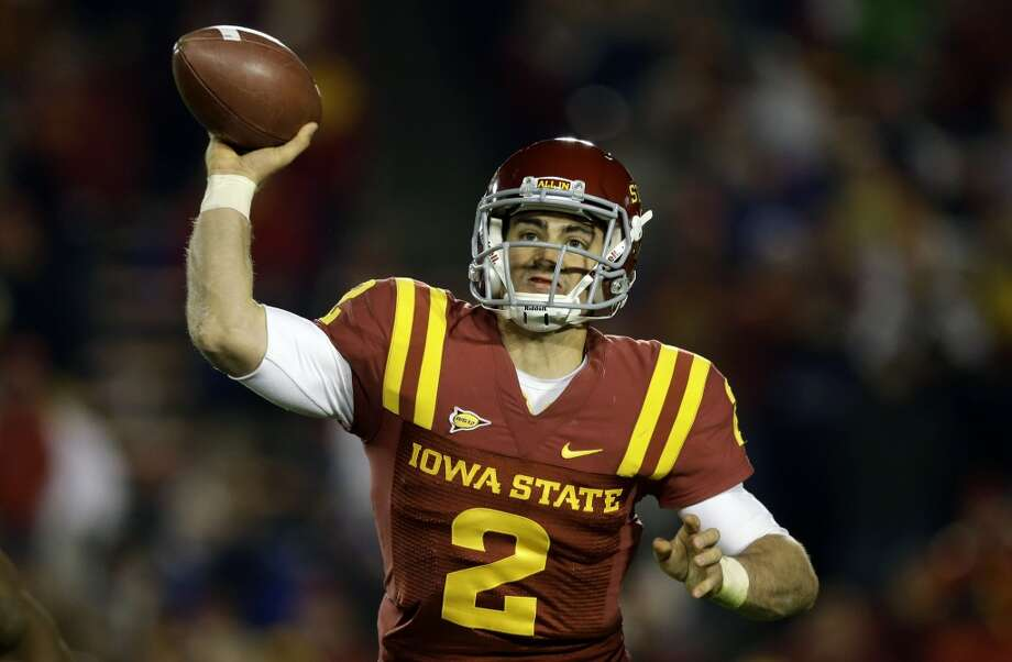 Steele Jantz, Iowa State, 36-52-1, 381 yards, 5 TDs Charlie Neibergall/Associated Press (Associated Press)