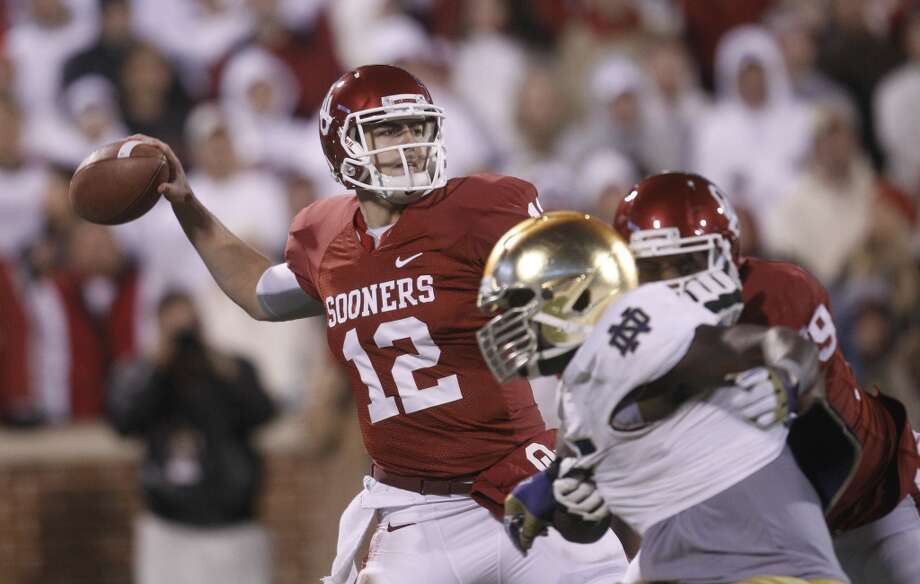 Landry Jones, Oklahoma, 35-51-1, 356 yards, 0 TDs Sue Ogrocki/Associated Press (Associated Press)