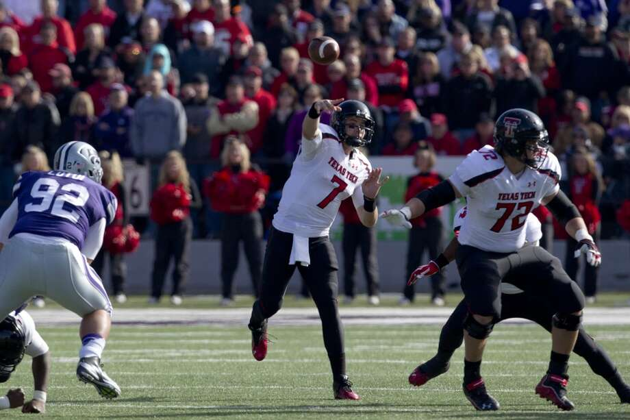 Seth Doege, Texas Tech, 35-50-1, 331 yards, 2 TDs Orlin Wagner/Associated Press (Associated Press)