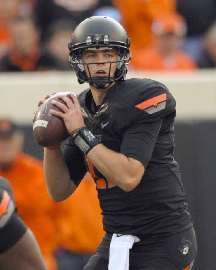 Wes Lunt, Oklahoma State, 18-33-1, 324 yards, 1 TD  Brody Schmidt/Associated Press (Associated Press)
