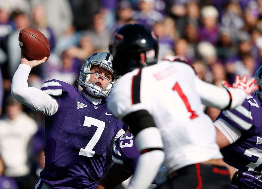 Collin Klein, Kansas State, 19-26-0, 233 yards, 2 TDs Jamie Squire/Getty Images (Getty Images)