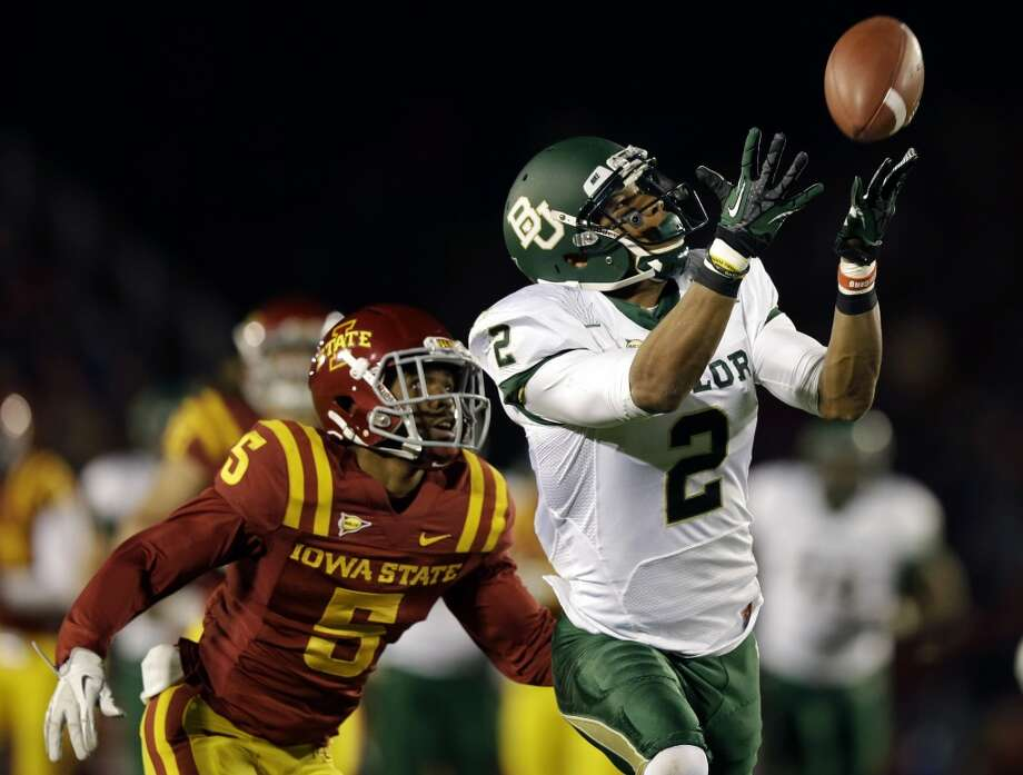 Terrance Williams, Baylor, 13 catches, 190 yards, 0 TDs Charlie Neibergall/Associated Press (Associated Press)