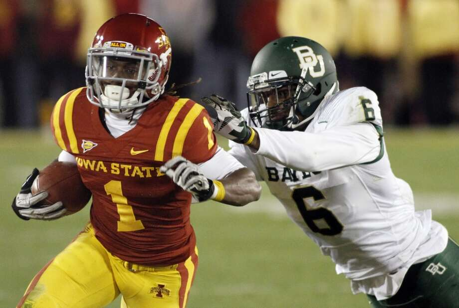 Jarvis West, Iowa State, 7 catches, 99 yards, 3 TDs Matthew Holst/Getty Images (Getty Images)
