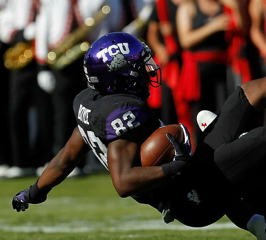 Josh Boyce, TCU, 7 catches, 74 yards, 0 TDs Tom Pennington/Getty Images photo from Oct. 20