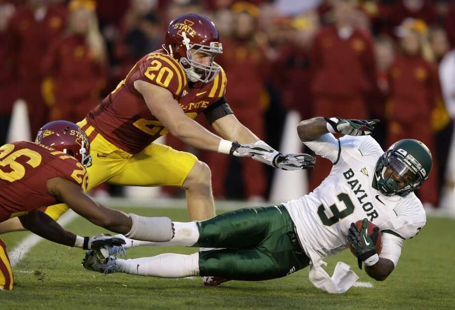 Lanear Sampson, Baylor, 7 catches, 73 yards, 1 TD Charlie Neibergall/Associated Press (Associated Press)