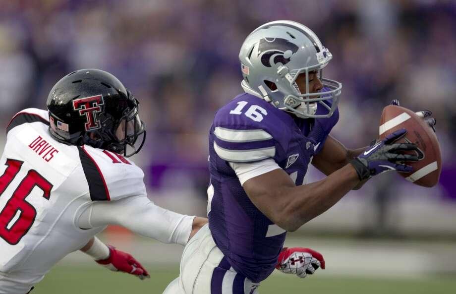 Tyler Lockett, Kansas State, 7 yards, 62 yards, 0 TDs  Orlin Wagner/Associated Press (Associated Press)