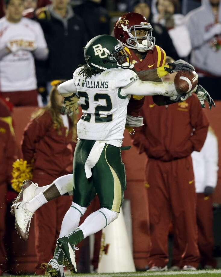 Chris Young, Iowa State, 7 catches, 61 yards, 0 TDs Charlie Neibergall/Associated Press (Associated Press)