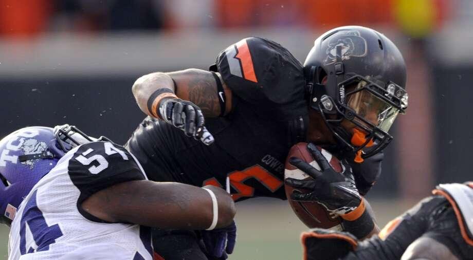 Josh Stewart, Oklahoma State, 6 catches, 120 yards, 0 TDs  Brody Schmidt/Associated Press (Associated Press)
