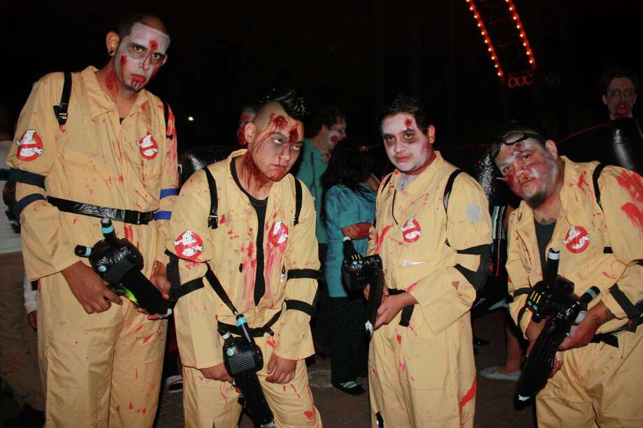 San Antonio Zombie Walk at HemisFair Park on Oct. 28, 2012. Photo: Yvonne Zamora/Express-News
