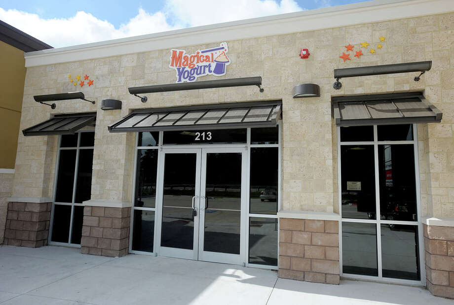 Magical Yogurt, located at 141 N. LHS Dr., Suite 213 in Lumberton, will open at the beginning of November, offering dozens of frozen yogurt flavors and toppings. Photo taken Wednesday, October 24, 2012 Guiseppe Barranco/The Enterprise Photo: Guiseppe Barranco, STAFF PHOTOGRAPHER / The Beaumont Enterprise
