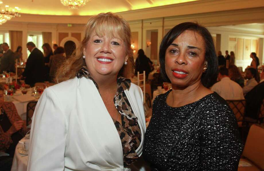 Chairs Nancy Beck-Deane, left, and Phyllis Williams Photo: Gary Fountain, Freelance / Copyright 2012 Gary Fountain.