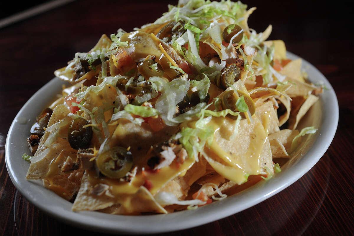 Among other bar foods, Luke's menu offers nachos, burgers, onion rings and fries. 2325 Calder St. Photo taken Thursday, October 18, 2012 Guiseppe Barranco/The Enterprise