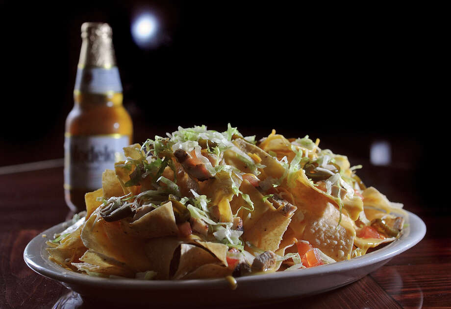 Luke's nachos.  Photo: Guiseppe Barranco, STAFF PHOTOGRAPHER / The Beaumont Enterprise