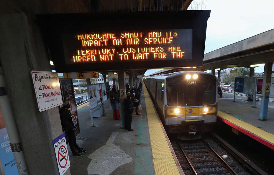 With Hurricane Sandy approaching, the Long Island Railroad announced the suspension of their service