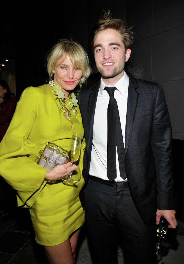 Actors Cameron Diaz and Robert Pattinson attend LACMA 2012 Art + Film Gala Honoring Ed Ruscha and Stanley Kubrick presented by Gucci at LACMA on October 27, 2012 in Los Angeles, California. Photo: John Sciulli, Getty Images For LACMA / 2012 Getty Images