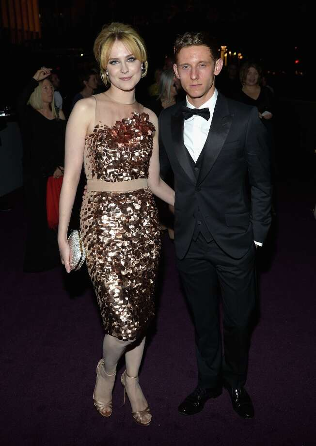 Actress Evan Rachel Wood and actor Jamie Bell attend LACMA 2012 Art + Film Gala Honoring Ed Ruscha and Stanley Kubrick presented by Gucci at LACMA on October 27, 2012 in Los Angeles, California. Photo: Charley Gallay, Getty Images For LACMA / 2012 Getty Images