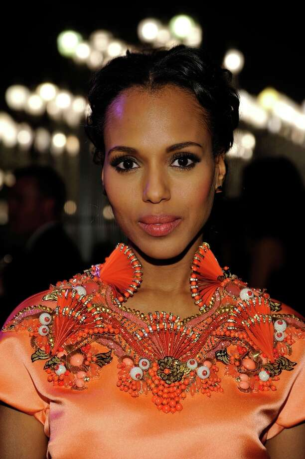 Actress Kerry Washington attends LACMA 2012 Art + Film Gala Honoring Ed Ruscha and Stanley Kubrick presented by Gucci at LACMA on October 27, 2012 in Los Angeles, California. Photo: John Sciulli, Getty Images For LACMA / 2012 Getty Images