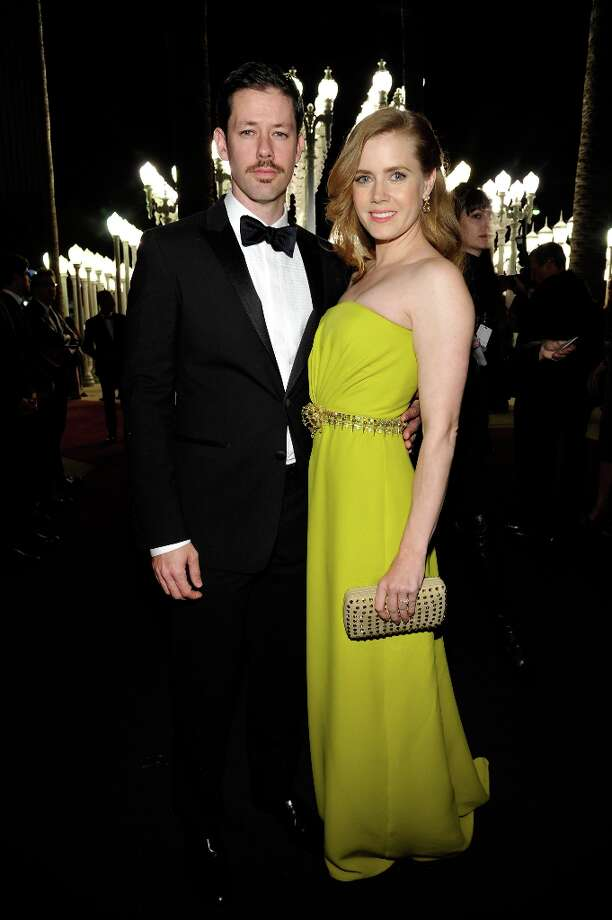 Actor Darren Le Gallo and Actress Amy Adams attend LACMA 2012 Art + Film Gala Honoring Ed Ruscha and Stanley Kubrick presented by Gucci at LACMA on October 27, 2012 in Los Angeles, California. Photo: John Sciulli, Getty Images For LACMA / 2012 Getty Images