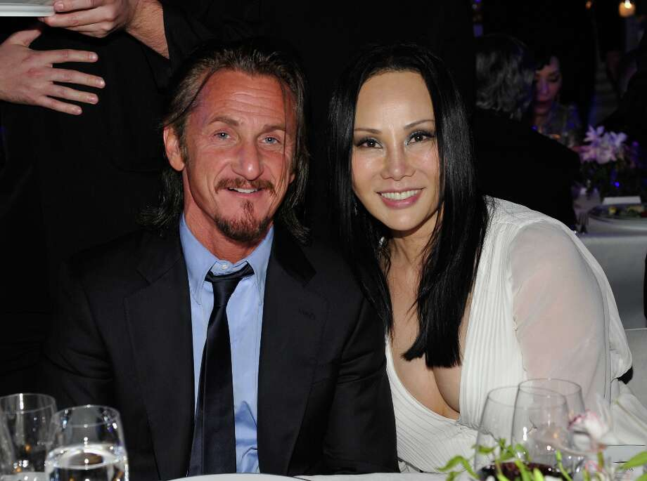 (L-R) Actor Sean Penn and LACMA Art + Film Gala Co-Chair Eva Chow attend LACMA 2012 Art + Film Gala Honoring Ed Ruscha and Stanley Kubrick presented by Gucci at LACMA on October 27, 2012 in Los Angeles, California. Photo: John Sciulli, Getty Images For LACMA / 2012 Getty Images