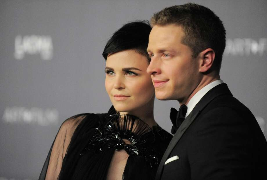 Ginnifer Goodwin, left, and Josh Dallas arrive at the 2012 ART + FILM GALA hosted by LACMA on Saturday, Oct. 27, 2012, in Los Angeles. Photo: Jordan Strauss, Associated Press / Invision