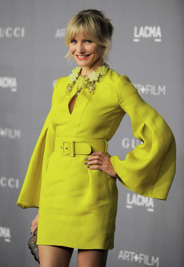 Actress Cameron Diaz arrives at the 2012 ART + FILM GALA hosted by LACMA on Saturday, Oct. 27, 2012, in Los Angeles. Photo: Jordan Strauss, Associated Press / Invision