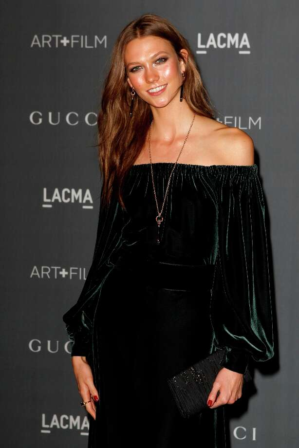 Karlie Kloss arrives at the LACMA ART + FILM GALA at the Los Angeles County Museum of Art on October 27, 2012 in Los Angeles, California. Photo: PATRICK T. FALLON, AFP/Getty Images / Patrick T. Fallon