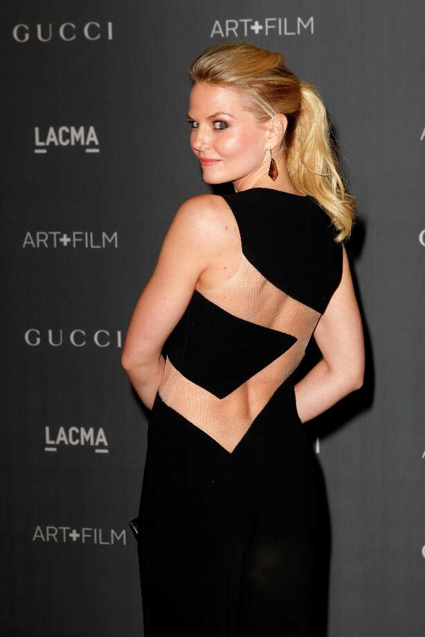 Jennifer Morrison arrives at the LACMA ART + FILM GALA at the Los Angeles County Museum of Art on October 27, 2012 in Los Angeles, California. Photo: PATRICK T. FALLON, AFP/Getty Images / Patrick T. Fallon