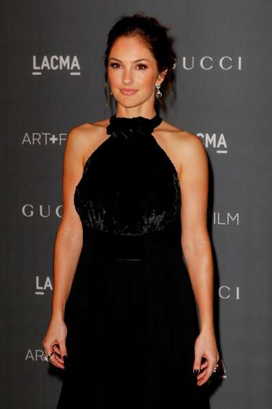 Minka Kelly arrives at the LACMA ART + FILM GALA at the Los Angeles County Museum of Art on October