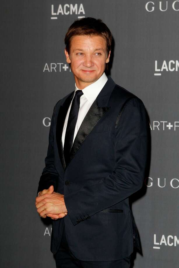 Jeremy Renner arrives at the LACMA ART + FILM GALA at the Los Angeles County Museum of Art on October 27, 2012 in Los Angeles, California. Photo: PATRICK T. FALLON, AFP/Getty Images / Patrick T. Fallon