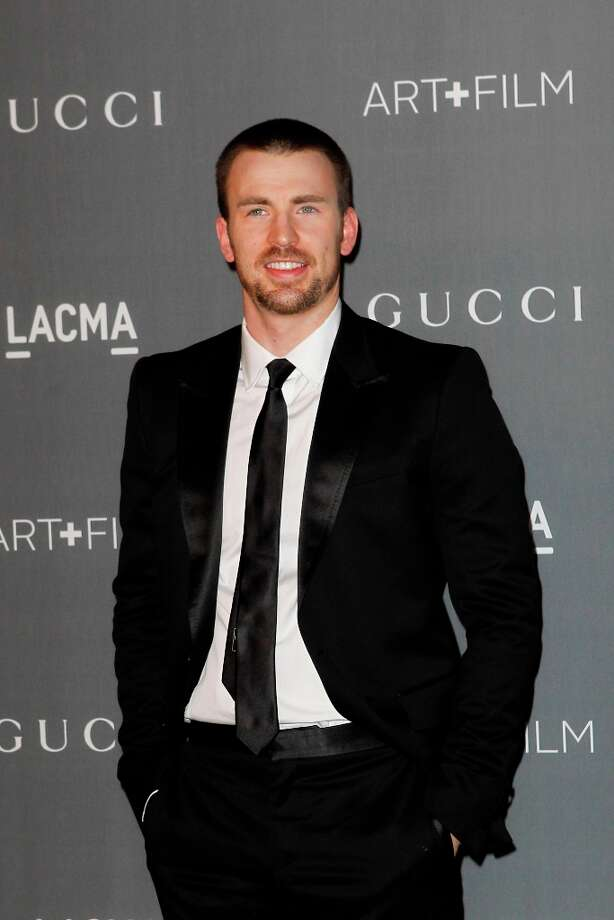 Chris Evans arrives at the LACMA ART + FILM GALA at the Los Angeles County Museum of Art on October 27, 2012 in Los Angeles, California. Photo: PATRICK T. FALLON, AFP/Getty Images / Patrick T. Fallon