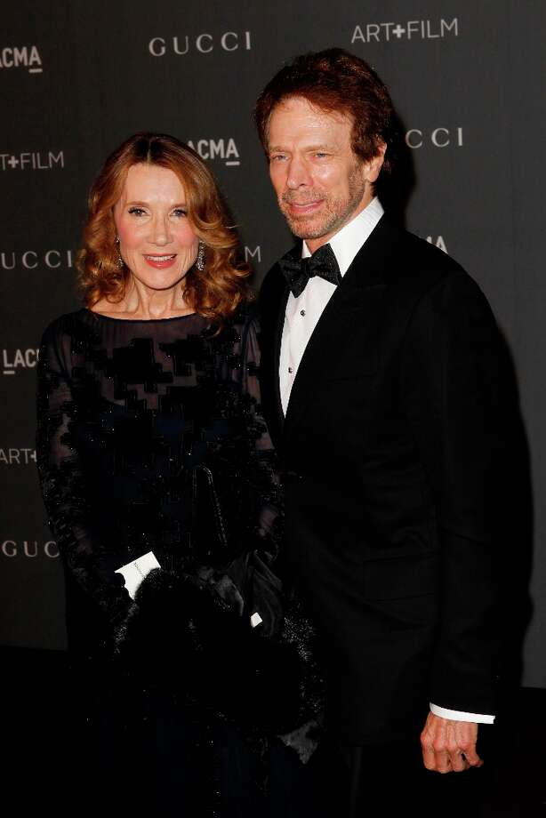Linda Bruckheimer and Jerry Bruckheimer arrive at the LACMA ART + FILM GALA at the Los Angeles County Museum of Art on October 27, 2012 in Los Angeles, California. Photo: PATRICK T. FALLON, AFP/Getty Images / Patrick T. Fallon