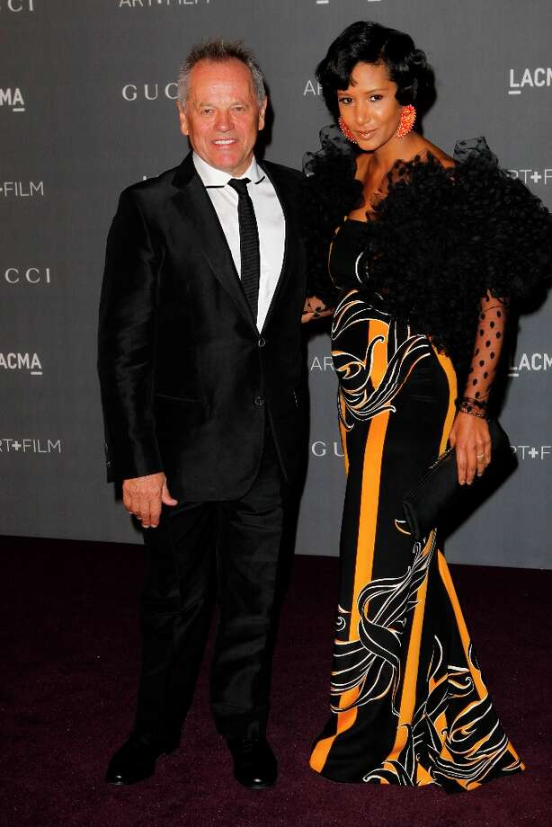 Chef Wolfgang Puck and Gelila Assefa arrive at the LACMA ART + FILM GALA at the Los Angeles County Museum of Art on October 27, 2012 in Los Angeles, California. Photo: PATRICK T. FALLON, AFP/Getty Images / Patrick T. Fallon