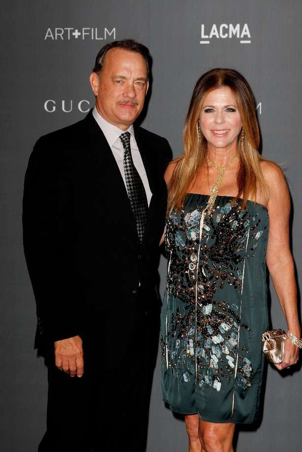 Tom Hanks and Rita Wilson arrive at the LACMA ART + FILM GALA at the Los Angeles County Museum of Art on October 27, 2012 in Los Angeles, California. Photo: PATRICK T. FALLON, AFP/Getty Images / Patrick T. Fallon