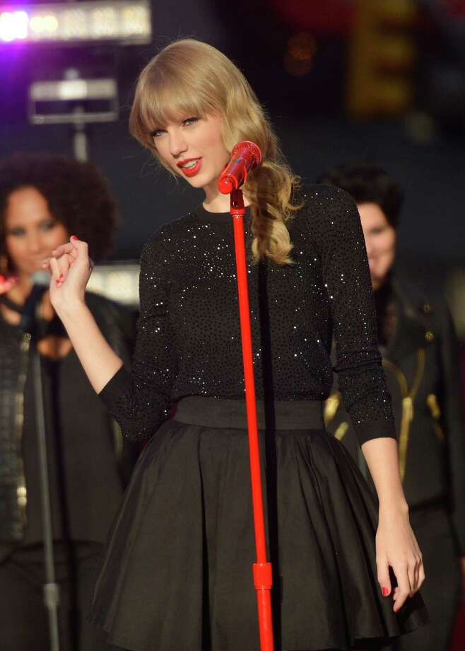 Taylor Swift will likely be performing a song about one of her famous ex-boyfriends. Let's try to guess who it is this time.  Photo: Mike Coppola, Getty Images / Getty Images North America