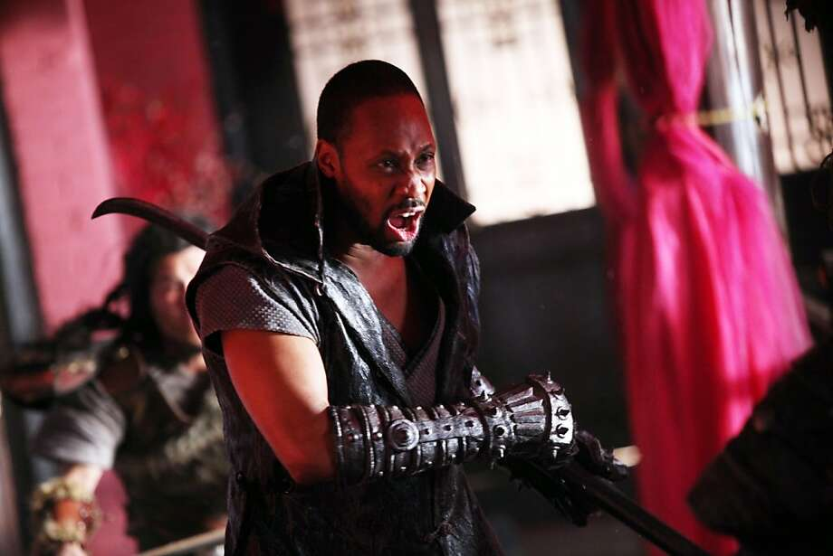 "RZA directs and stars in ""The Man With the Iron Fists."" Photo: Associated Press"